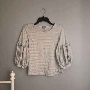 Striped Blouse - Never Worn